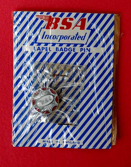 BSA pin in package